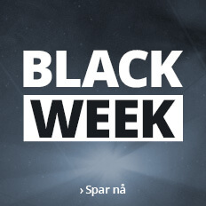 Black week - opptil 70 %
