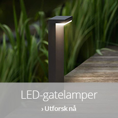 LED-gatelamper