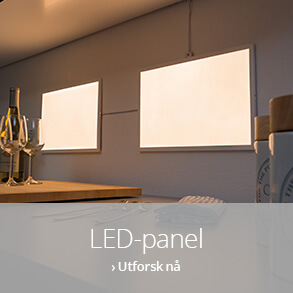 LED-panel til ditt hjem