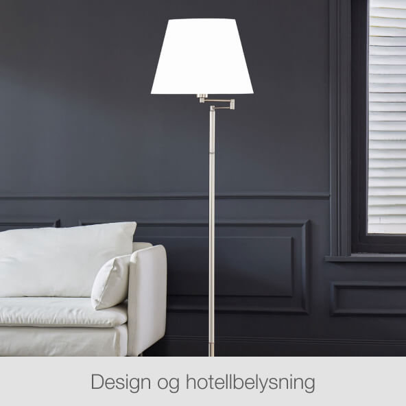 Design og hotellbelysning